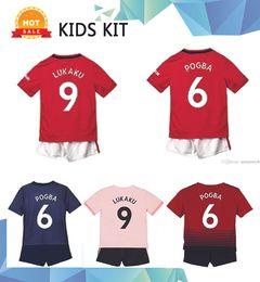 $enCountryForm.capitalKeyWord Australia - 19 20 #6 POGBA Kids Kit Soccer Jerseys 2019 Home Red ALEXIS Rashford children Soccer Shirt Away LUKAKU MARTIAL Football uniform Smalling