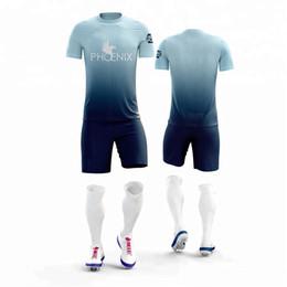 f9d616628 Customized Full sublimation Soccer Jerseys   shorts soccer sets Sportswear  men football uniforms Soccer training suit football Jerseys