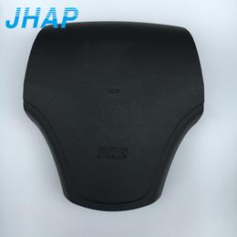 Hyundai wHeel covers online shopping - Car Steering Wheel Airbag Cover For Hyundai Elantra Driver Wheel Airbag SRS Air bag Cover With Emblem Logo