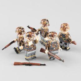 $enCountryForm.capitalKeyWord Australia - Ww2 Military Army Soldier Figures Building Blocks German Autumn Army Soldier Weapon Helmet Accessories Bricks Toy For Children MX190730