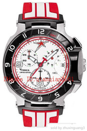 $enCountryForm.capitalKeyWord Australia - Luxury watch Shipping Men T048 Quartz T048.417.27.017.00 T-sport T-race Motogp White Dial Red Chronograph T0484172701700