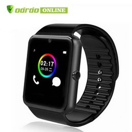 $enCountryForm.capitalKeyWord Australia - Factory price GT08 Bluetooth Smart Watch support SIM Card Health Watchs for Android Samsung iphone Smartphones Sports Smartwatch