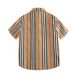 $enCountryForm.capitalKeyWord Australia - Designer Shirts for Boys Summer Luxury Shirt College Style Casual Tops Cute Gentleman Boy Wearing Childrens Clothing Thin Jackets
