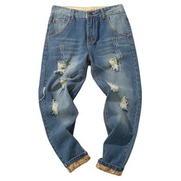 27763d8dfe6 Men s Casual Autumn Denim Cotton Vintage Wash Hip Hop Work Trousers Jeans Pants  Man Jeans Straight Fit Kot Pantolon Erkek 10