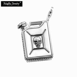 $enCountryForm.capitalKeyWord NZ - Skull Oil Drum Pendant, 2019 Thomas Style Steampunk Punk Good Fashion Jewelry For Men And Women,Ts Gift In 925 Sterling Silver