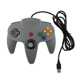 joysticks for ps2 2020 - LBKAFA Wired USB Game Controller Gaming Joypad Joystick USB Gamepad For Nintendo Game cube For N64 64 PC For Mac Gamepad