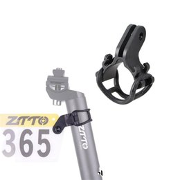 Bicycles special online shopping - Bicycle Number Plate Bracket Code Table Holder Extension Seat Special Purpose Support Black Portable Hot Sales yw C1