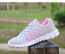 Light Up Shoes Women Australia - Women Shoes Light Breathable Mesh Shoes Woman Sneakers Casual Women Trainers White Sneakers Lace-Up Size