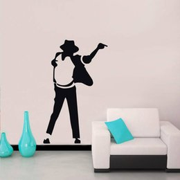 wall sticker music kids NZ - Pop Top Star Wall Stickers for Music Room Background Removable Wallpaper Decals Living Room Vinyl Art Decoration Home