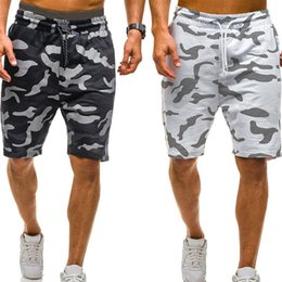 mens knee length cargo shorts Australia - 2019 New Men Camouflage Shorts Casual Male Hot Sale Military Cargo Shorts Knee Length Mens Summer Short Pants Pantalon Homme # SH190829