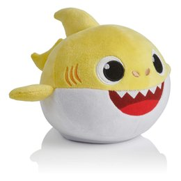 Dance Sing Toy Australia - Electric Funny Cute Kids Toys Baby Shark Singing English Song Dancing Dolls Cute Soft Plush For Toddler