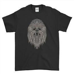 $enCountryForm.capitalKeyWord Australia - Chewbacca T Shirt Chain Face Chewie Wookie Design Mens T Shirt Top Tee
