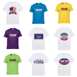 3d shirts size xxxl UK - Best Selling New Men'S Summer Trump T-Shirt Large Size Short-Sleeved Letter Printing Cotton Trump T-Shirt 3D Designer Clothing M-Xxxl Golf Tr