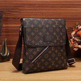 Patchwork Plaid Handbags Australia - High Quality New Men Genuine Leather Briefcases Shoulder Bags Men Handbag Bolsas Messenger Bag Men Wedding Dress Crossbody Bag