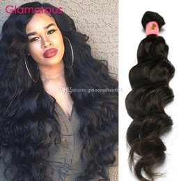 $enCountryForm.capitalKeyWord Canada - Glamorous Malaysian Human Hair Natural Wave Cheap Wavy Hair Extensions 1 Bundle 100g Peruvian Indian Brazilian Hair Weaves for black women