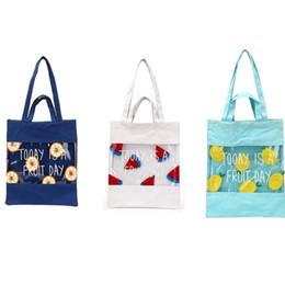 $enCountryForm.capitalKeyWord Canada - Cheap New Summer Women Girl Canvas PVS Shoulder Bag Fashion Fruit Ladies Handle Messenger Bags Casual Tote Handbags
