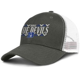 devil cap NZ - Popular Mesh Baseball hats Men Women-Duke Blue Devils basketball logo designer cap snapback Adjustable Golf caps Outdoor