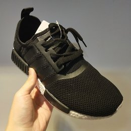 $enCountryForm.capitalKeyWord Australia - 2019 Bred NMD Runner R1 Primeknit atmos Thunder nmds Running shoes For Men Women OREO Military Green red Marble Sports sneakers 36-45