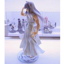 Demon Figures NZ - Anime Cartoon YuYu Hakusho Demon Fox Kurama 1 8 PVC Figure Collectible Toy 25cm