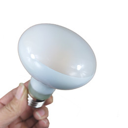 Dimmable Energy Saving Bulbs Wholesale Australia - Dull Polish Glass Energy Saving R80 LED Filament Spot Bulb Dimmable, Real 8 Watt E27 Focus Reflector Bulb