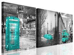 $enCountryForm.capitalKeyWord NZ - large Paris Decor Wall Art for Living Room London Big Ben Tower Canvas Prints Pictures for bedroom Black and White