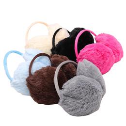 $enCountryForm.capitalKeyWord Canada - 1PC Women Men Warm Fur Earmuffs Unisex Girls Winter Earwarmers Ear Muffs Earflap Warmer Headband Fur Round Unisex Earmuffs