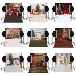 Photography Christmas Digital Backdrops Australia - 150x220cm house decorative christmas photography backdrops for photos camera fotografica digital cloth props studio photo background vinyl