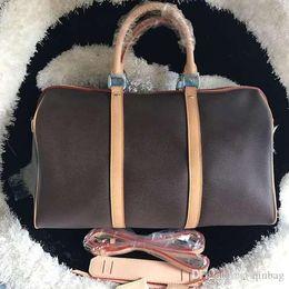 $enCountryForm.capitalKeyWord Australia - Wholesale 45cm Large shoulder bag oxidation leather fashion famous travelling bag luxury handbags presbyopic boston messenger bag
