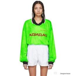 $enCountryForm.capitalKeyWord Australia - 18FW GOSHA RUBCHINSKIY POLO Tee Jersey Pullover Sweatshirt Outdoor Casual Stitching Street Sweater O-Neck Long Sleeve Hoodies HFYMWY128