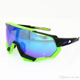 $enCountryForm.capitalKeyWord Australia - Hot Sale 8 Set Ski Goggles Luxury POC 100 Speedcraft 100% Outdoor Sports Bicycle Sunglasses Bicicleta Gafas Ciclismo Cycling Glasses Eyewear