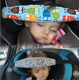 Heart owl online shopping - Baby sleep pillow cartoon owl printed adjustable safety belt pillow head protection safety fastening belt