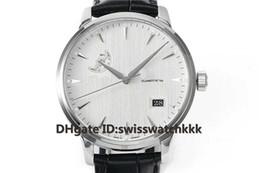 $enCountryForm.capitalKeyWord Australia - BKS Hot Sale Wristwatches Swiss Cal.36-04 Automatic Sapphire Crystal 316L Steel Case Moonphase Date Display calfskin strap Mens Watch