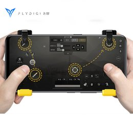 $enCountryForm.capitalKeyWord Australia - Flydigi Phone Super Game Controller for PUBG Mobile Gamepad Trigger Shooter Joystick for iPhone Android Compatible with WASP
