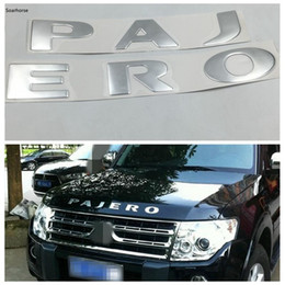 $enCountryForm.capitalKeyWord Australia - For Mitsubishi Pajero Silver or Gold Front Bonnet Emblems Badge Logo Stickers