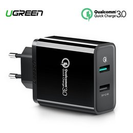 Usb Quick Charger Australia - Ugreen Quick Charge 3.0 30w Qc 3.0 Usb Charger For Iphone X 8 Fast Charger For Samsung Galaxy S8 S9 Xiaomi Mi 8 Quick Charge 3.0 J190427