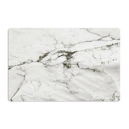 $enCountryForm.capitalKeyWord UK - 2PCS SET Marble Pattern Anti-Slip Heat Insulated PVC Dining Table Kitchen Coffee Place Mat Tableware Pad Mat