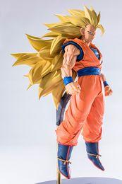 $enCountryForm.capitalKeyWord NZ - Dragon Ball Hero series Super Saiyan 3 Son Goku Male peripheral doll model toy Mini statue 15cm