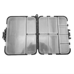 Tool Storage Hooks Australia - 18 Grid Compartments Storage Case Fishing Tool Lure Spoon Hook Bait Holder