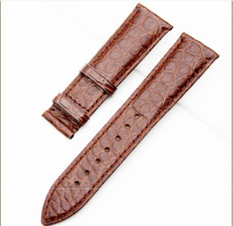 Wholesale Crocodile leather strap manufacturers spot Bamboo pattern American true crocodile leather watch with universal custom