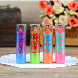 $enCountryForm.capitalKeyWord NZ - Fashion Women Nutritious Lip Balm Creative Cute Magic Color Lipstick New Arrived Pomade Cosmetics For Girl