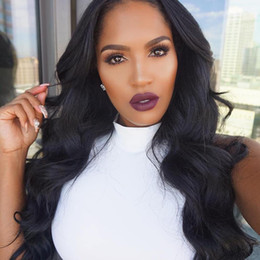 body wave wig cap hairstyles 2019 - Perstar Lace Front Human Hair Wigs Brazilian Body Wave Lace Frontal Wig With Baby Hair Natural Hairline Remy Hair Averag