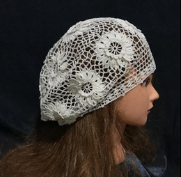 $enCountryForm.capitalKeyWord Australia - Sell Retro Hand Crochet Knitted Elegant Beret Hats For Ladies Mohair Super Soft Lovely Breathy Hats For Women Best Price QualitySH190721