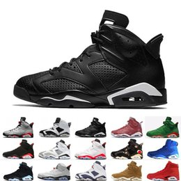 386a4ae4b9d 2019 Bred VI 6 6s Mens Basketball Shoes Infrared 23 3M Reflective Tinker  Hatfield Slam Dunk CNY Wheat Men Sports Sneakers Designer Trainers
