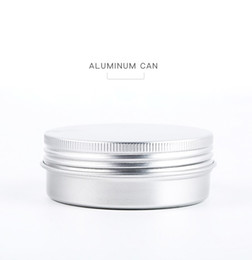 $enCountryForm.capitalKeyWord Australia - 60ml Empty Aluminium Cosmetic Containers Pot Lip Balm Jar Tin For Cream Ointment Hand Cream Packaging Box WCW657