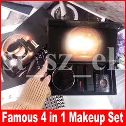 $enCountryForm.capitalKeyWord Australia - Famous Face Makeup set matte Lipstick + Lipgloss + Air Cushion + Perfume set lip gloss make up 4 in 1 Kit