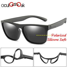 ca6d1bb5aae8 New Fashion Kids Polarized Sunglasses Brand Design Boys Girls Square Sun  Glasses Uv400 Child Shades Eyewear Oculos De Sol Gafas