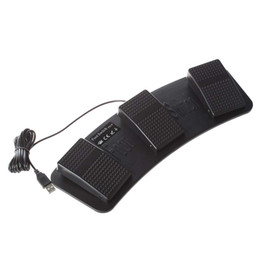 $enCountryForm.capitalKeyWord Australia - MGS FS3-P USB Triple Foot Switch Pedal Control Keyboard Mouse Plastic