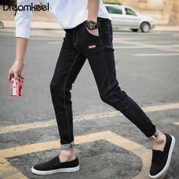 $enCountryForm.capitalKeyWord Australia - Men's 2019 fashion men's jeans washed jeans hip hop sportswear jogging pants hollow Work clothes Y