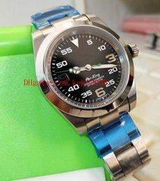 829054dcf3c Luxo de Alta Qualidade Relógios De Pulso Perpétuo 40mm Air-King 116900  Oystersteel Ásia 2813 Movimento Mecânico Automático Mens Watch Relógios