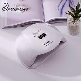 $enCountryForm.capitalKeyWord Australia - Automatic 54w Dryer Dual Uv Led Nail Gel Polish Curing Light Nails Ice Lamp For Manicure J190626